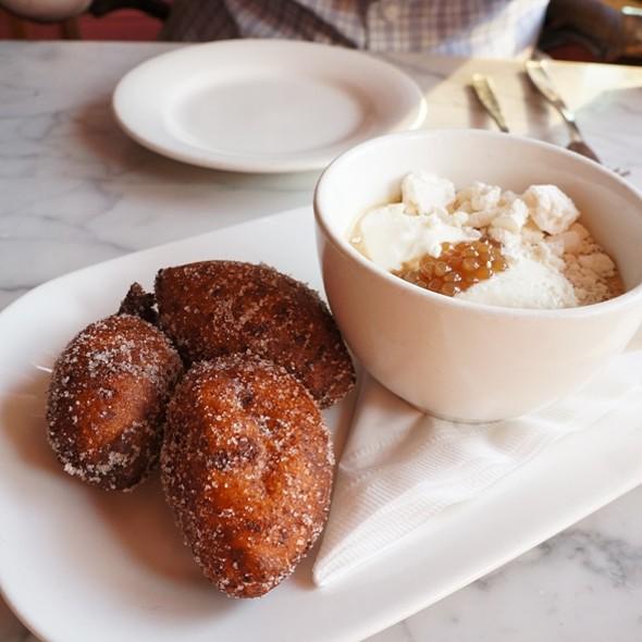 Fresh Ricotta Doughnuts - The Harbord Room, Toronto, ON