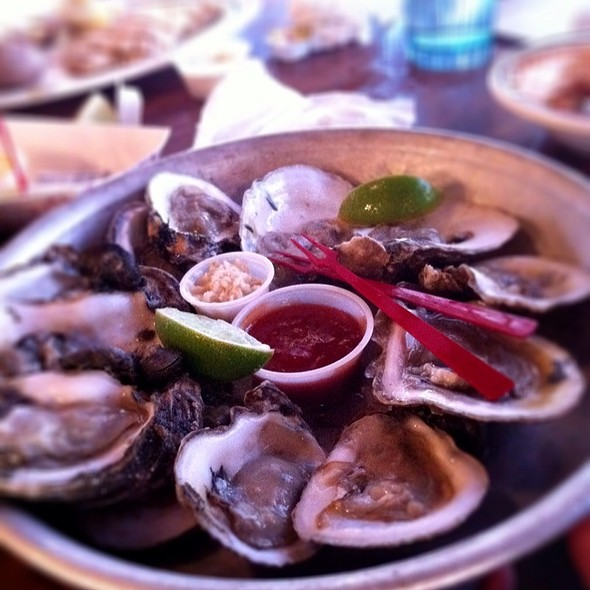 Gulf Oysters @ Half Shell Raw Bar