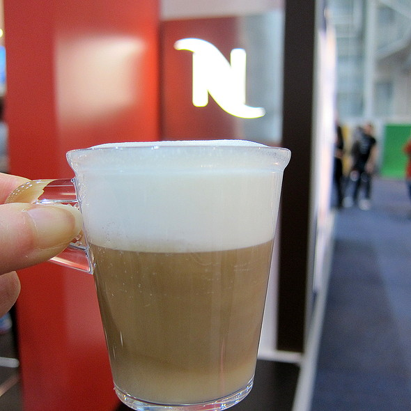 Cappuccino @ Nespresso @ Good Food & Wine Show