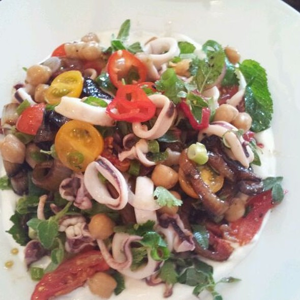 Calamary Salad @ Toto Resturant