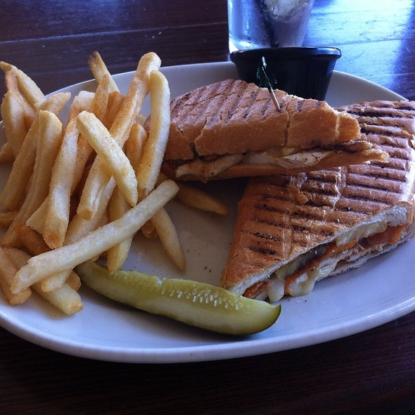 Swordfish Panini @ The Green Parrot