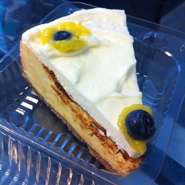 Baked Lemon Curd Cheese Cake  @ Briar Rose Bakery