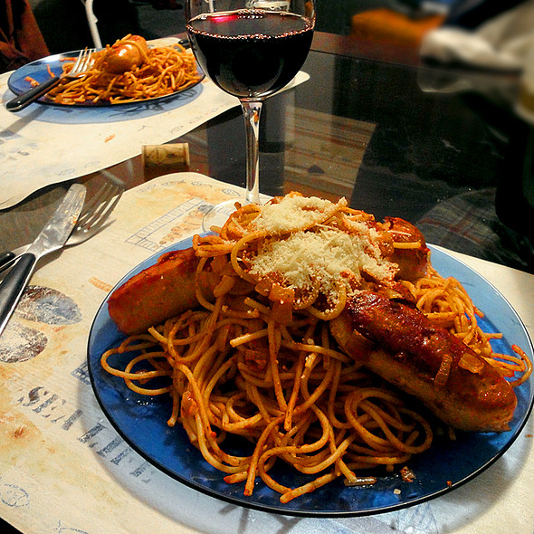 Pasta with Sausage @ Home