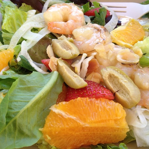 Citrus Shrimp Salad @ Garden Cafe