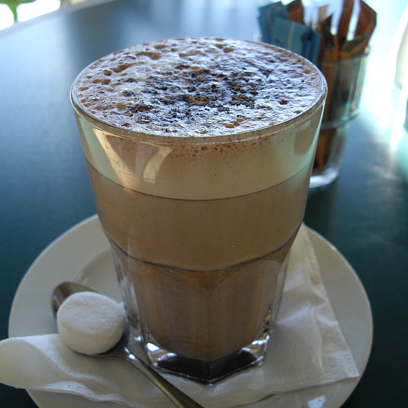Hot Chocolate Latte @ Glentanner Park Centre Mount Cook Holiday Park, Flightseeing and Activity Centre