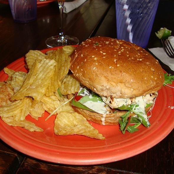 Mahi Sandwich @ Hobbit Cafe
