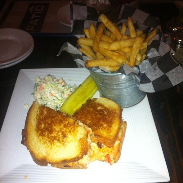 Lobster Grilled Cheese Sandwish W/ Ho Farms Tomato Soup At Patio American  Grill