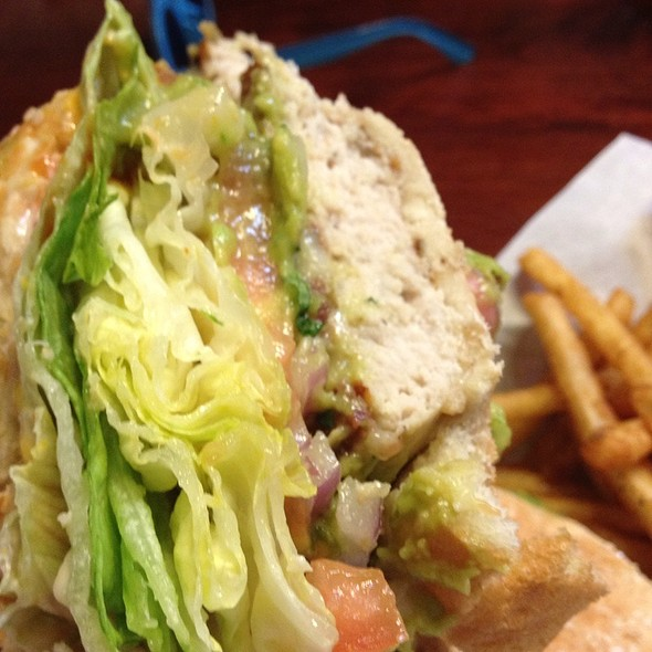 California Burger With Turkey @ First Street AleHouse