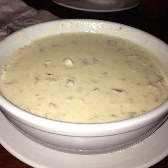 New England Clam Chowder @ Wharf Pub & Restaurant