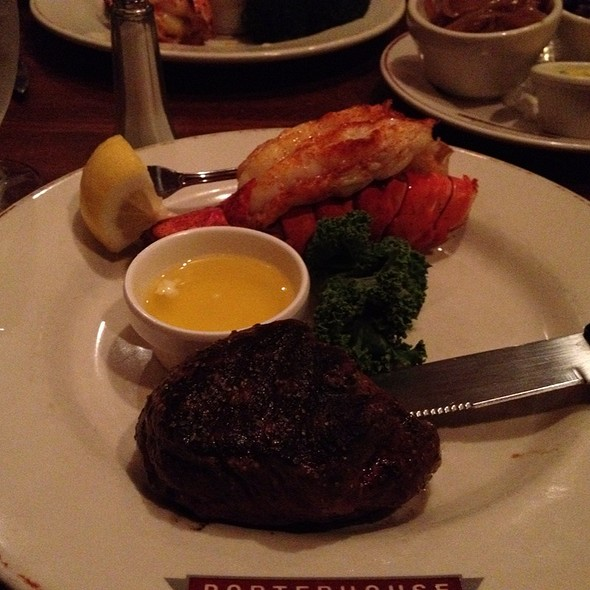Filet Mingon And Lobster Tail - Porterhouse Steak and Seafood - Little Canada, Little Canada, MN