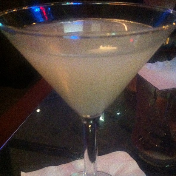 Lychee Ginger Martini - Dine, Chicago, IL