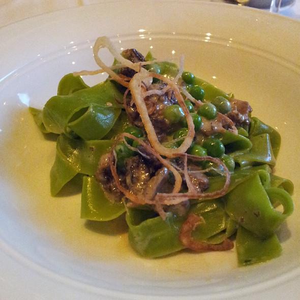 Fettuccine Verde - Frasca Food and Wine, Boulder, CO