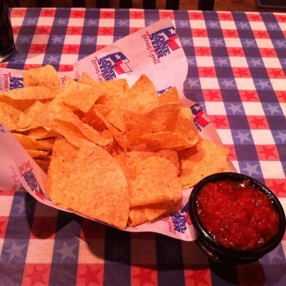 Chips and Salsa @ Lone Star Texas Grill