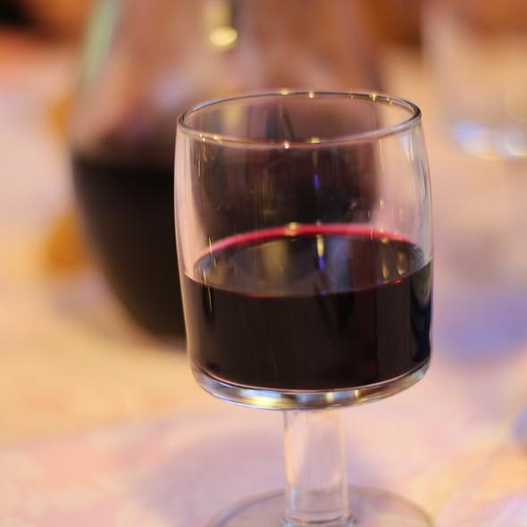 House Red Wine @ Trattoria Stella