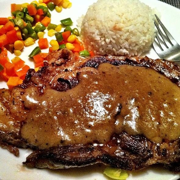 Ribeye Steak @ Black Angus