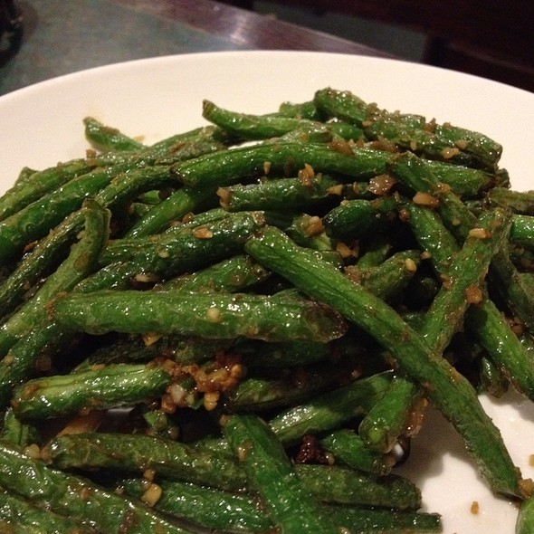 Dry Fried Green Beans at Sichuan Fortune House