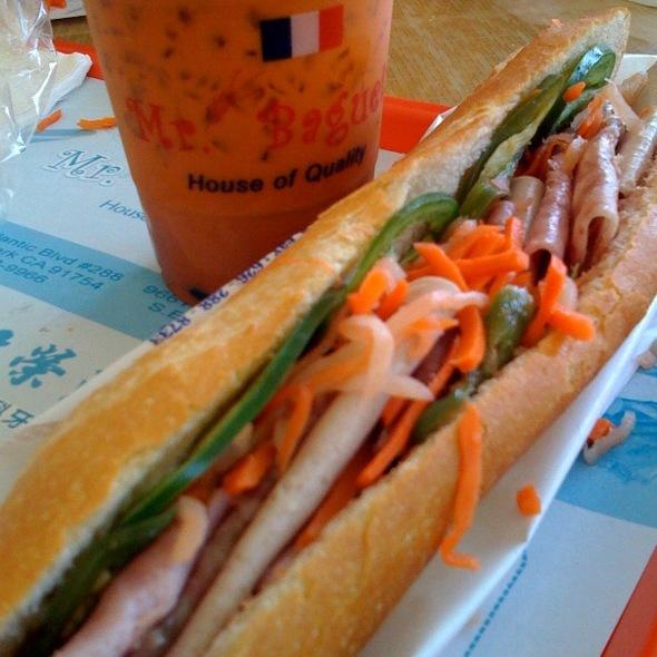 Vietnamese Sandwich @ Mr Baguette