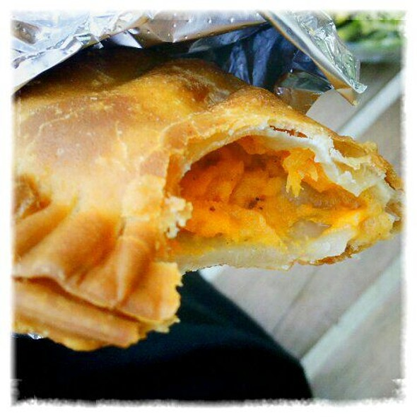 Sweet Potato Empanada @ Zea May's