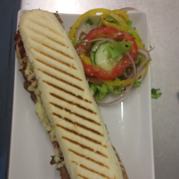 Bbq Beef Panini @ Mid Yorkshire Golf Club