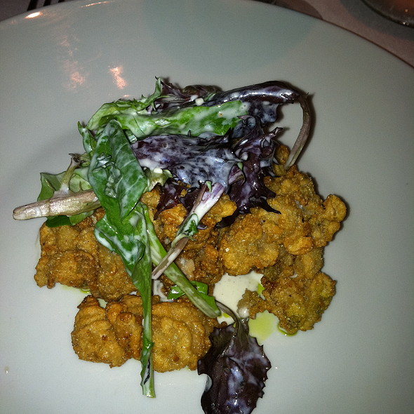 Deep Fried Oysters - Restaurant Iris, Memphis, TN