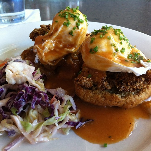 Fried Chicken Benedict - Tremont 647, Boston, MA