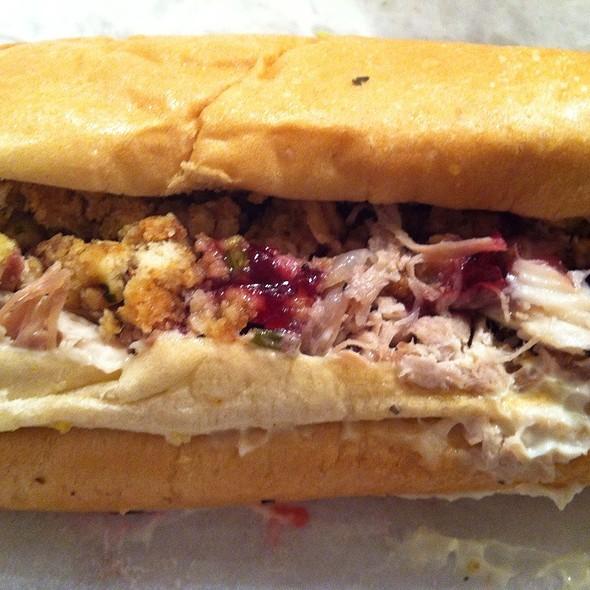 The Bobbie @ Capriotti's Sandwich Shop