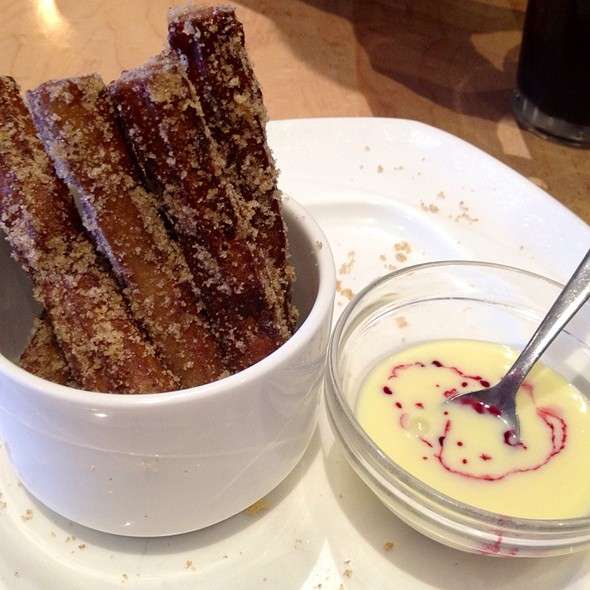 Macademia Nut Churros @ The Peasantry