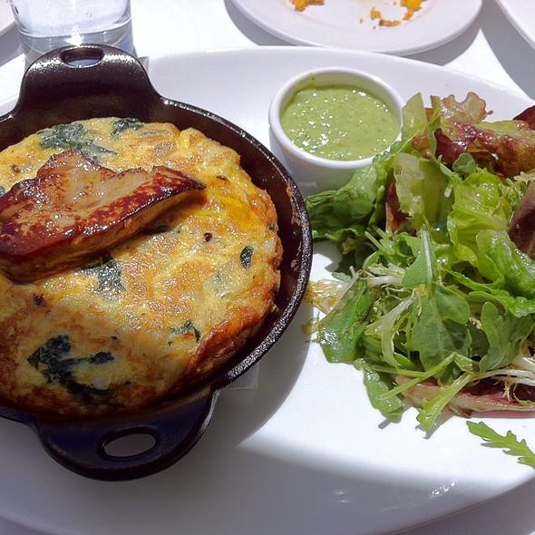 Dungeness Crab Fritatta With Foie Gras