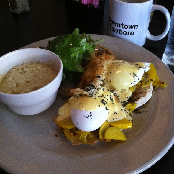 Soft Shell Crab Eggs Benedict - Acme Food & Beverage Co., Carrboro, NC