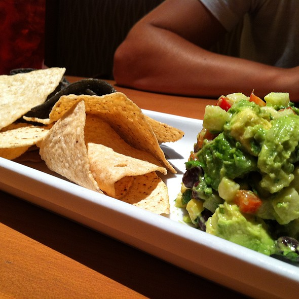 Guacamole and Chips @ California Pizza Kitchen