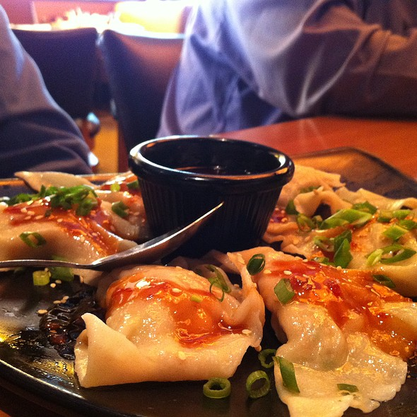 Sesame Ginger Chicken Dumplings @ California Pizza Kitchen