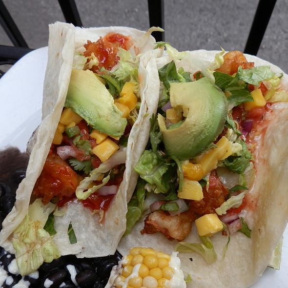 Caribbean Shrimp Tacos @ Tortillaria Mexican Kitchen