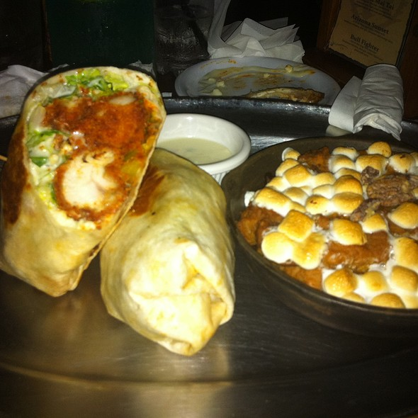 Buffalo Chicken Wrap @ Saddle Ranch Chop House
