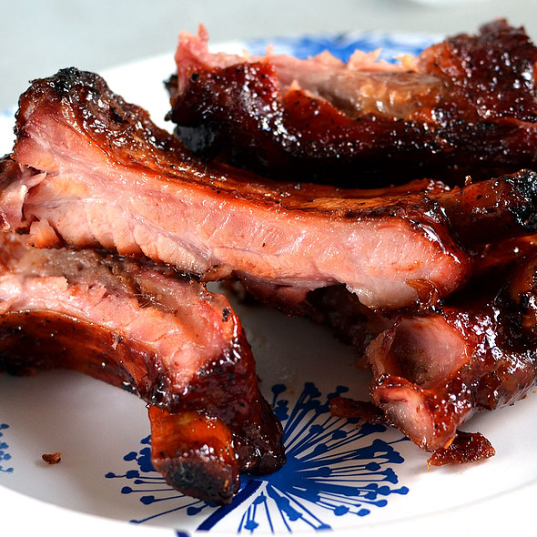 Cool Smoke's BBQ Ribs Entry @ Safeway National Barbecue Battle