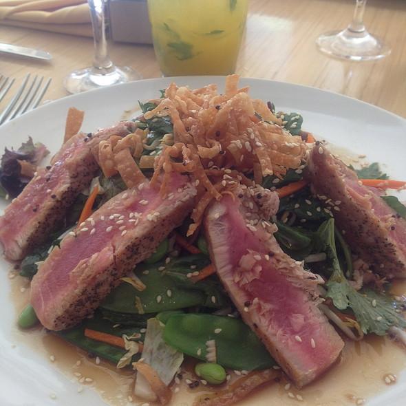 Seared Ahi Tuna Salad - Cava - Renaissance Esmeralda Resort & Spa, Indian Wells, CA