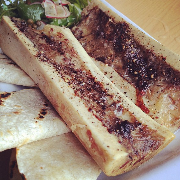 Roasted Marrow Bones @ Black Hogg