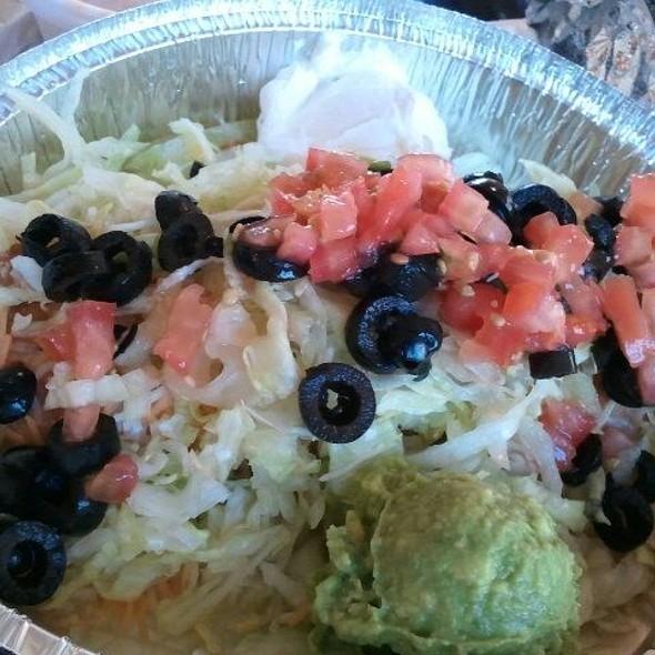 bean chimichanga @ Espos Mexican Food