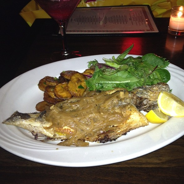 Poisson Braise A Le Guet Ndar (Braised Branzino) - Ponty Bistro, New York, NY