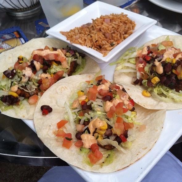 Grilled Mahi Mahi Fish Tacos - Bourbon Blue, Philadelphia, PA