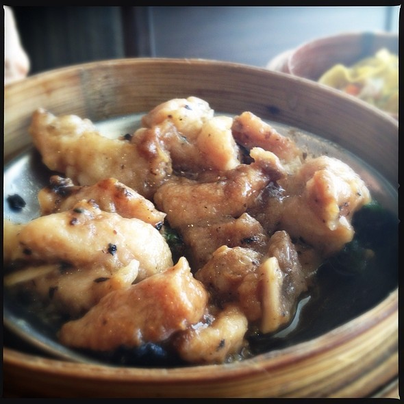 Steamed Spareribs with Black Beans @ Ahfat Seafood Plaza III