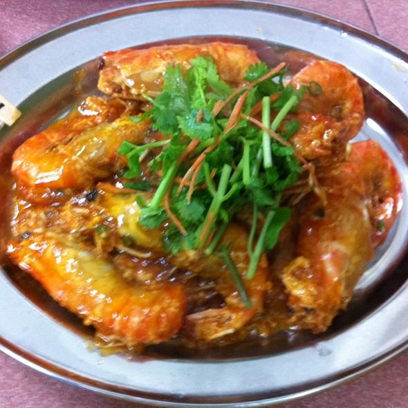 酸辣大头虾 @ Fish Village Seafood Sdn Bhd
