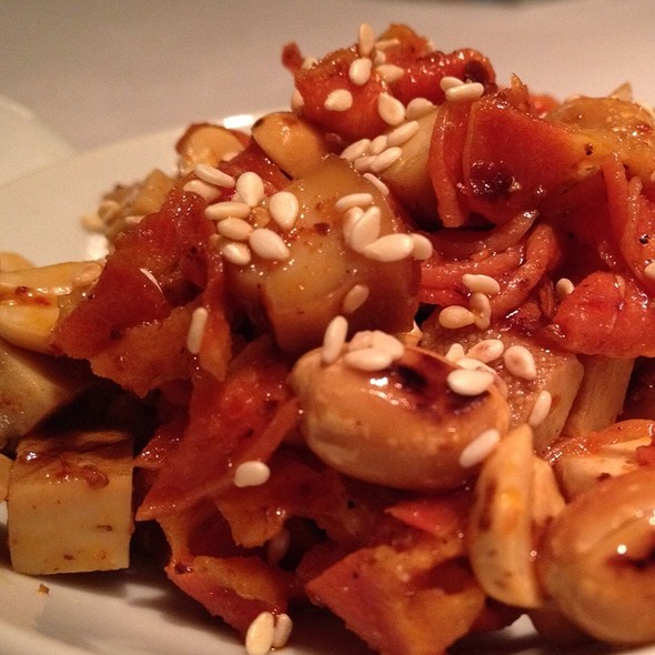 Tofu And Peanuts Ma La Appetizer @ Sìchuān Cuisine Da Píng Huō