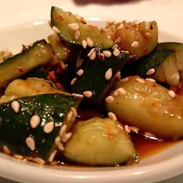 Pickled Sichuan Ma La Cucumbers @ Sìchuān Cuisine Da Píng Huō
