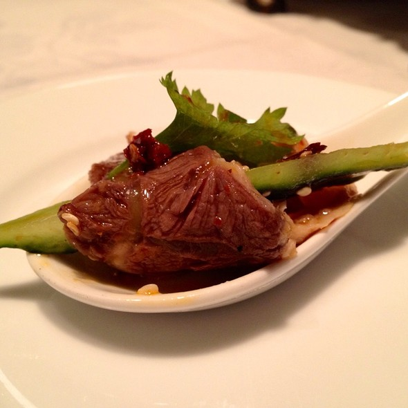 Sliced Beef Shank And Tripe With Hot Chilis @ Sìchuān Cuisine Da Píng Huō