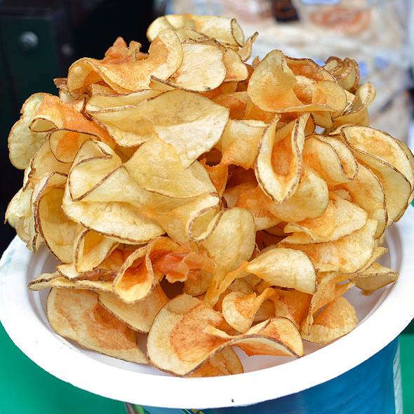 Butterfly Potato Chips @ Safeway National Barbecue Battle