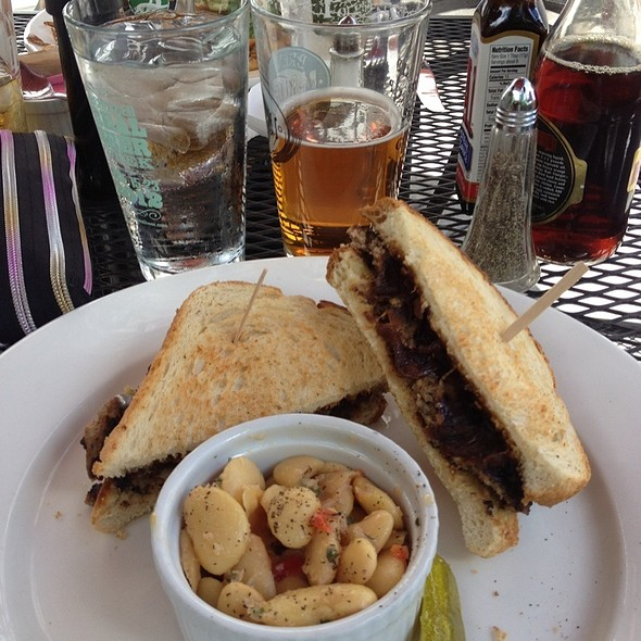 Patty Melt And White Beans! @ Tap and Mallet