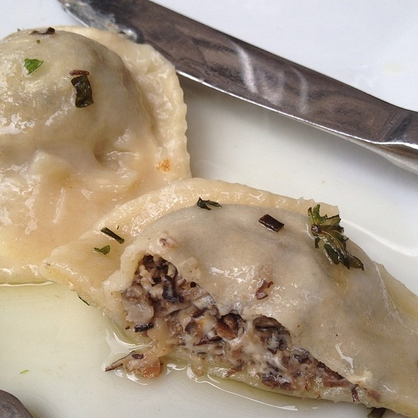 Mushroom Ravioli @ Cafe Blossom