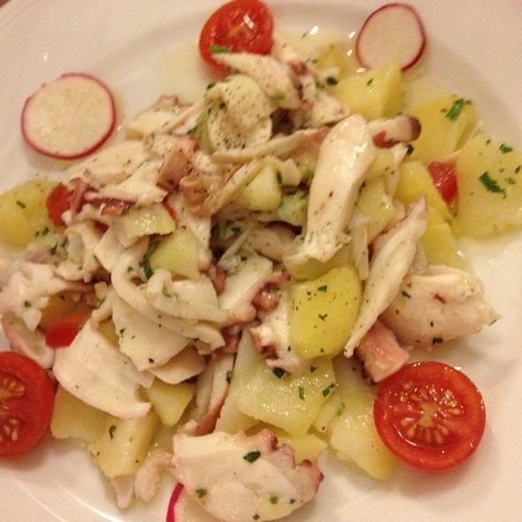 Warm Squid And Potato Calamari Seafood Antipasto Platter @ Ristorante Da Michele