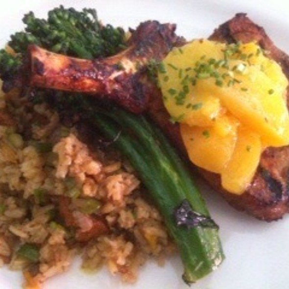 Grilled Spice-Rubbed Pork Chop @ Barbrix