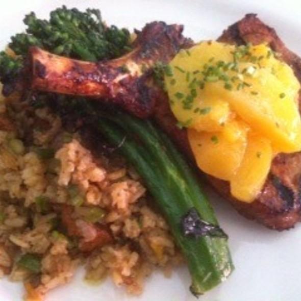 Grilled Spice-Rubbed Pork Chop @ Barbrix